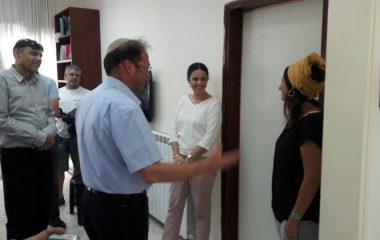 ביקור שרת המשפטים איילת שקד
